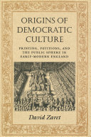 Origins of Democratic Culture