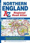 Northern England Regional Road Atlas