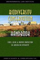Biodiversity Conservation Handbook
