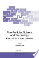 Fine Particles Science And Technology