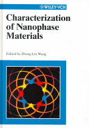 Characterization of Nanophase Materials Book