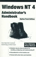 Windows NT 4 Administrator's Handbook