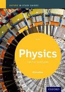 Cover of Ib study guide:phyiscs (2014). Per le Scuole superiori