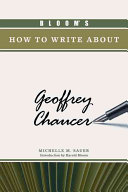 Bloom s How to Write about Geoffrey Chaucer