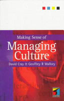 Making Sense of Managing Culture