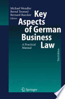 Key Aspects of German Business Law