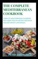 The Complete Mediterranean Cookbook Book