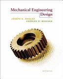 Mechanical Engineering Design.
