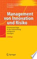 Management von Innovation und Risiko  : Quantensprünge in der Entwicklung erfolgreich managen