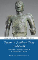 Oscan in Southern Italy and Sicily