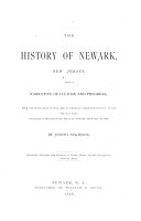 The History of Newark  New Jersey