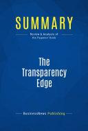 Summary  The Transparency Edge