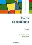 Pdf Cours de sociologie Telecharger