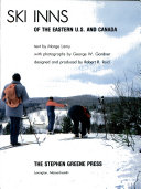 Cross Country Ski Inns of the Eastern U S  and Canada