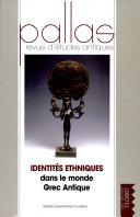 Identités ethniques dans le monde grec antique
