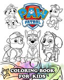 PAW Patrol Coloring Book for Kids