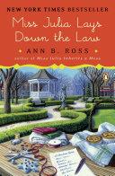 Miss Julia Lays Down the Law [Pdf/ePub] eBook