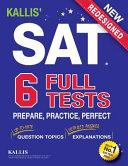 Kallis  SAT Full Tests