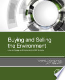Buying and Selling the Environment Book