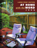 At Home with the Word - Large Print - 2009