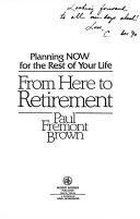 From Here to Retirement Book PDF