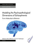 Modeling the Psychopathological Dimensions of Schizophrenia Book