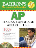 Barron's AP Italian Language and Culture 2008
