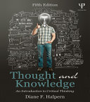 Thought and Knowledge Pdf/ePub eBook
