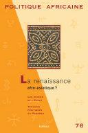 Pdf POLITIQUE AFRICAINE N-076-La renaissance afroasiatique ? Telecharger