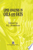 Lipid Analysis In Oils And Fats Book PDF