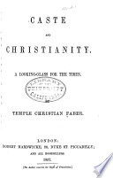 Caste and Christianity Book