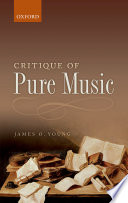 Critique of Pure Music