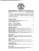 Medical Journal of Australia