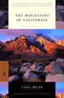 The Mountains of California [Pdf/ePub] eBook