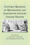 Cultural Readings of Restoration and Eighteenth-Century ...