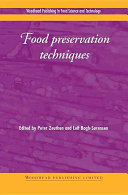 Food Preservation Techniques Book