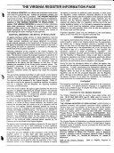 The Virginia Register of Regulations