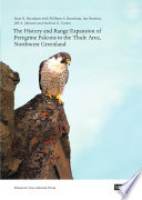 The History and Range Expansion of Peregrine Falcons in the Thule Area  Northwest Greenland Book