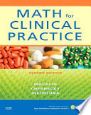 Math for Clinical Practice - E-Book