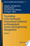 Proceedings of the Fourteenth International Conference on Management Science and Engineering Management