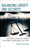 Balancing Liberty and Security Pdf/ePub eBook