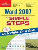Word 2007 In Simple Steps