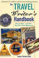 The Travel Writer s Handbook