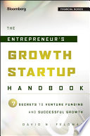 The Entrepreneur S Growth Startup Handbook Book PDF