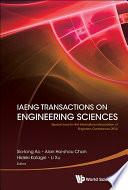 IAENG Transactions on Engineering Sciences