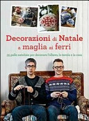 Decorazioni di Natale a maglia ai ferri