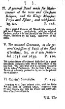 A collection of confessions of faith, catechisms, directories, books of discipline, &c. of publick authority in the Church of Scotland. Together with all the acts of assembly, which are standing rules concerning the doctrine, worship, government and discipline of the Church of Scotland. With a preface