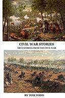 Civil War Stories Book