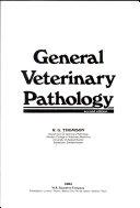 General Veterinary Pathology Book PDF