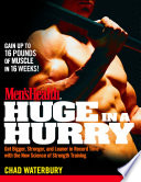 Men s Health Huge in a Hurry Book PDF